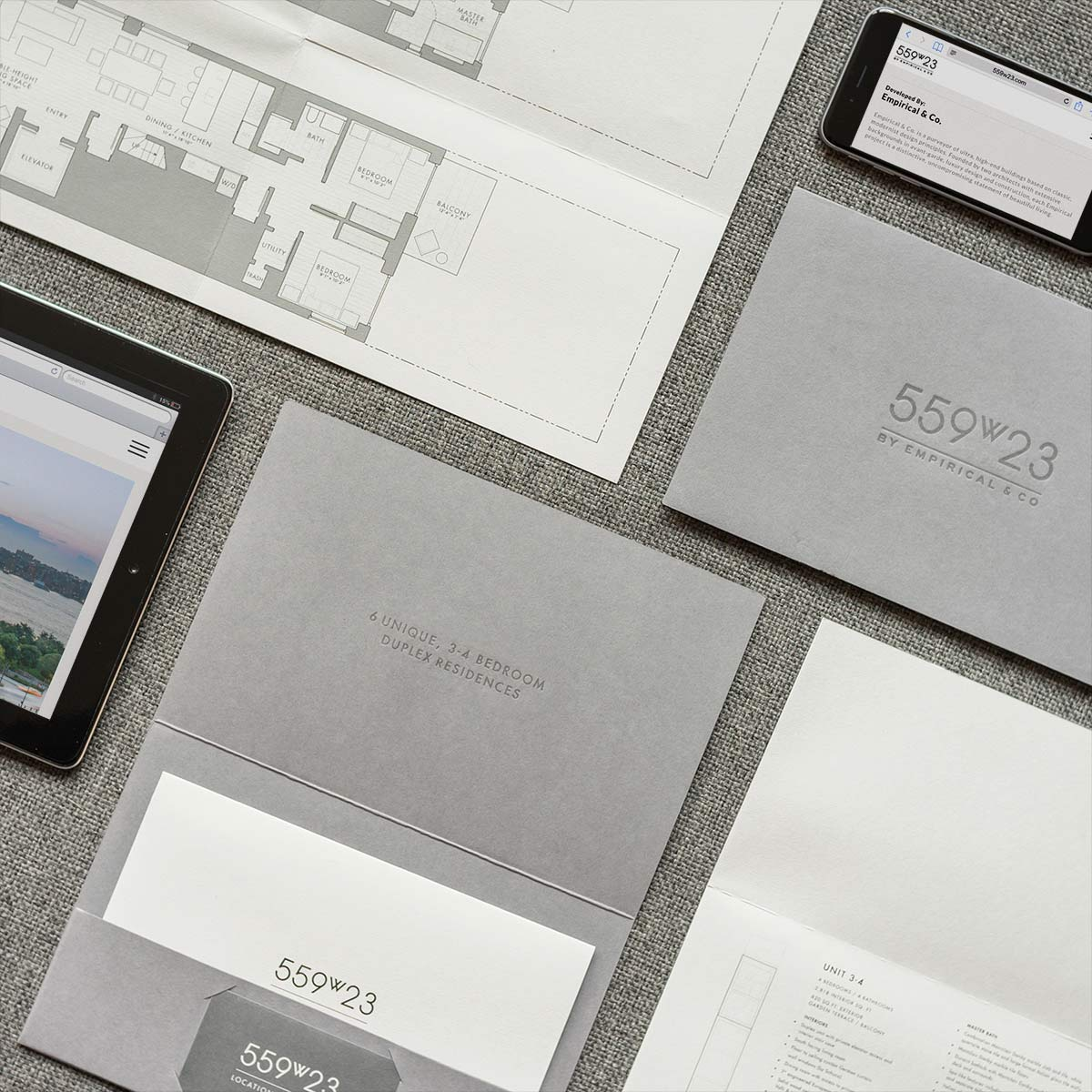 Real Estate Brand Brochure for NYC Development