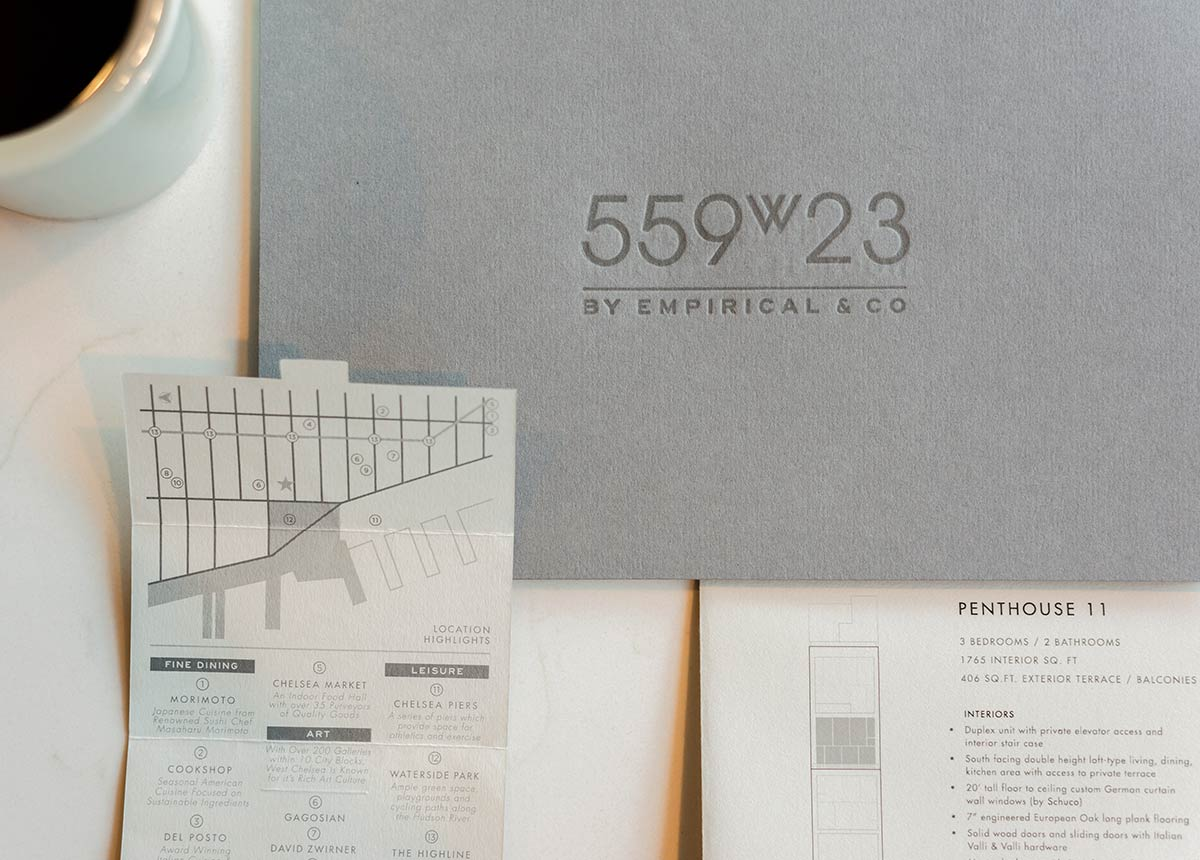 Architectural Branding for New York's Real Estate Development : 559w23