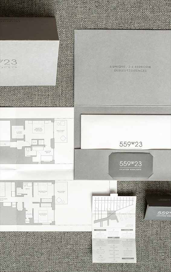 Architecture Brand Design for West Chelsea Real Estate