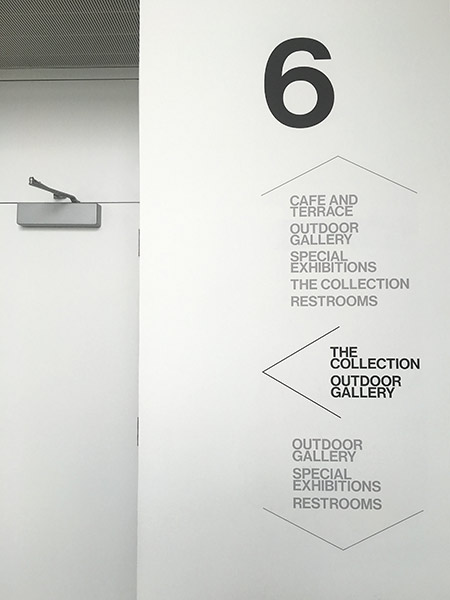 New York Museum Brand Design and Wayfinding