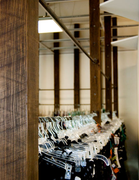 Swimwear Retail Shop Architecture with Reclaimed Elements