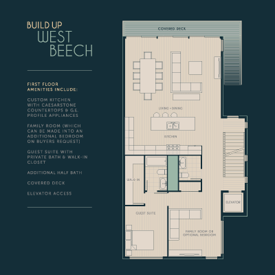 Floor Plans & Elevations : Bringing Graphic Clarity to Complex ... on modern house floor plans elevation, modern square house, modern office floor plans,