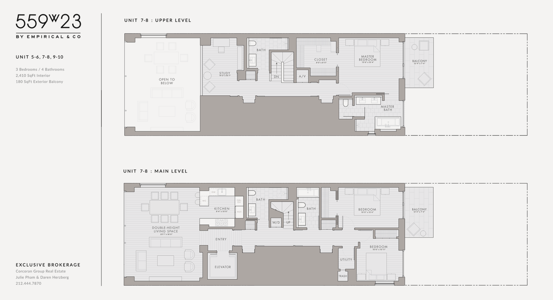 Floor Plans & Elevations : Bringing Graphic Clarity To