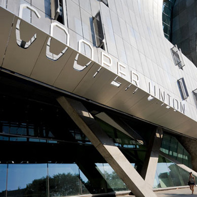 Cooper Union Signage By Morphosis / Iwan Baan Photography