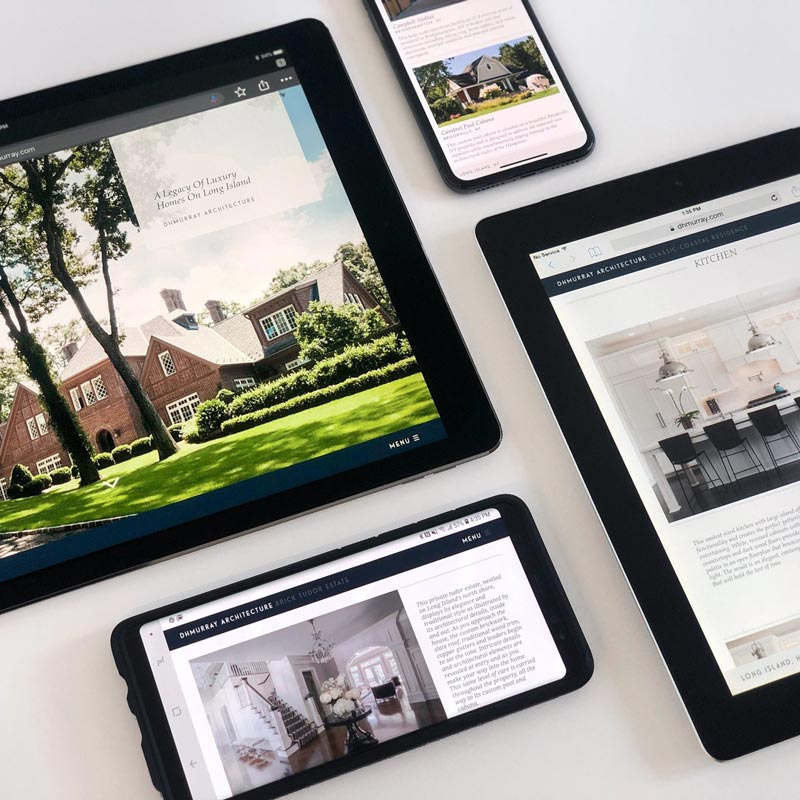 Branding and Web Design for Long Island Architecture Firm DHMurray Architecture