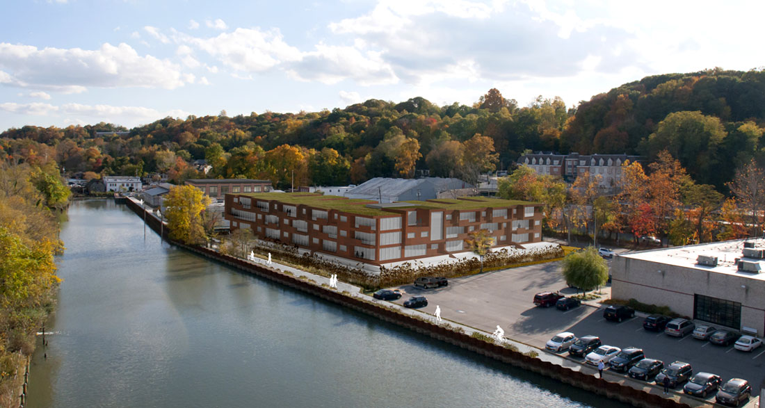 Green Path Urban Architecture Strategy for Roslyn NY Waterfront