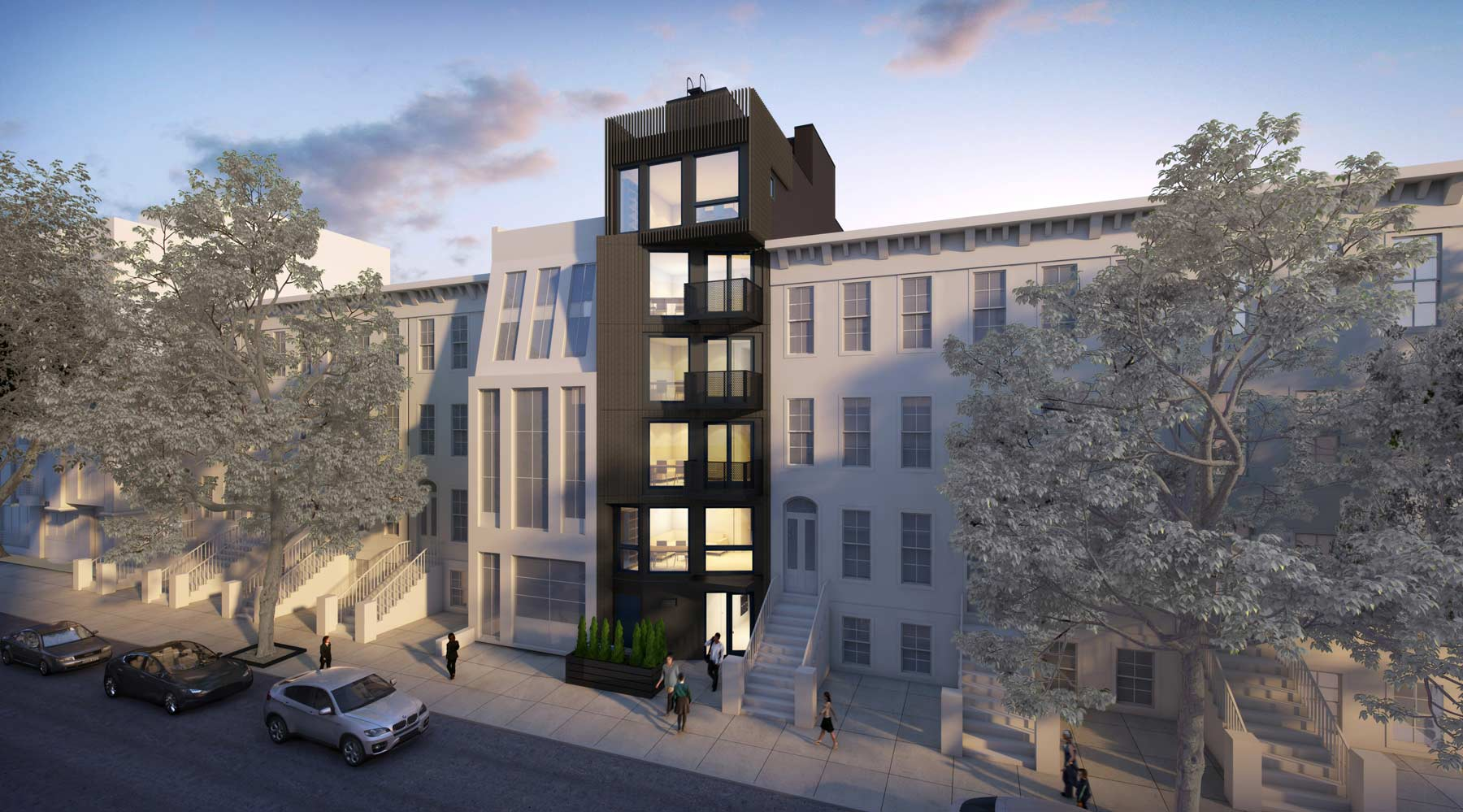 Modular Harlem NY Architecture for New Residential Development