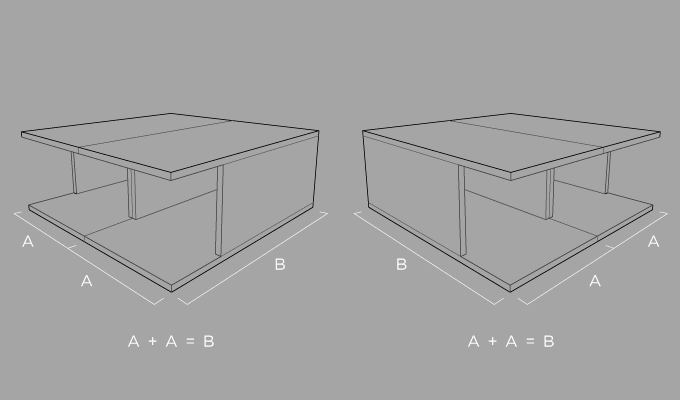Custom Hat Shop Furniture Piece Diagram