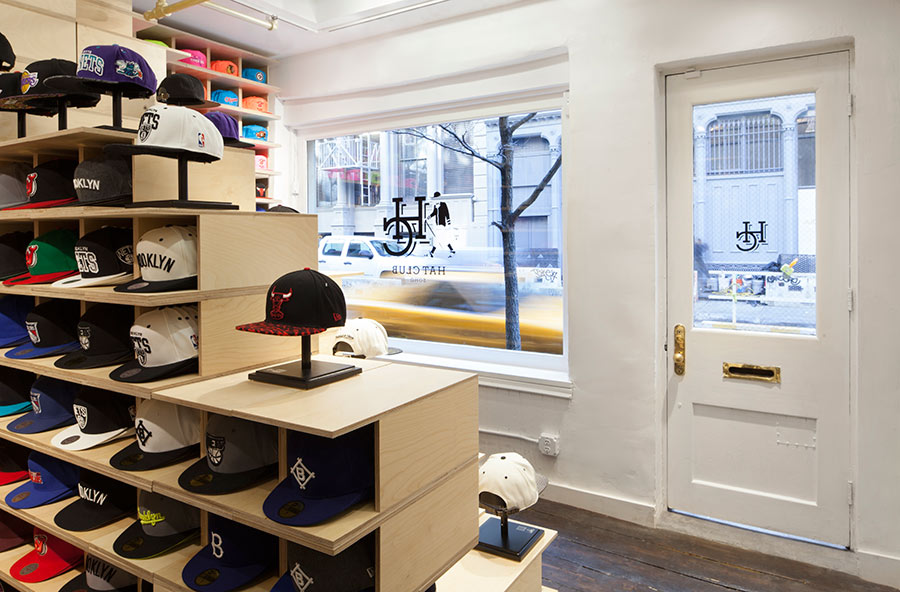 Modern Retail Boutique within Old Soho NYC Building