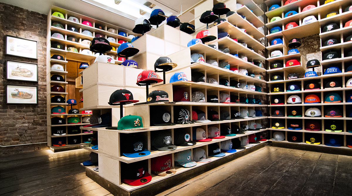 THE UP STUDIO   A Hat Store Designed with Architecture that Adapts Daily 742a17cefdf