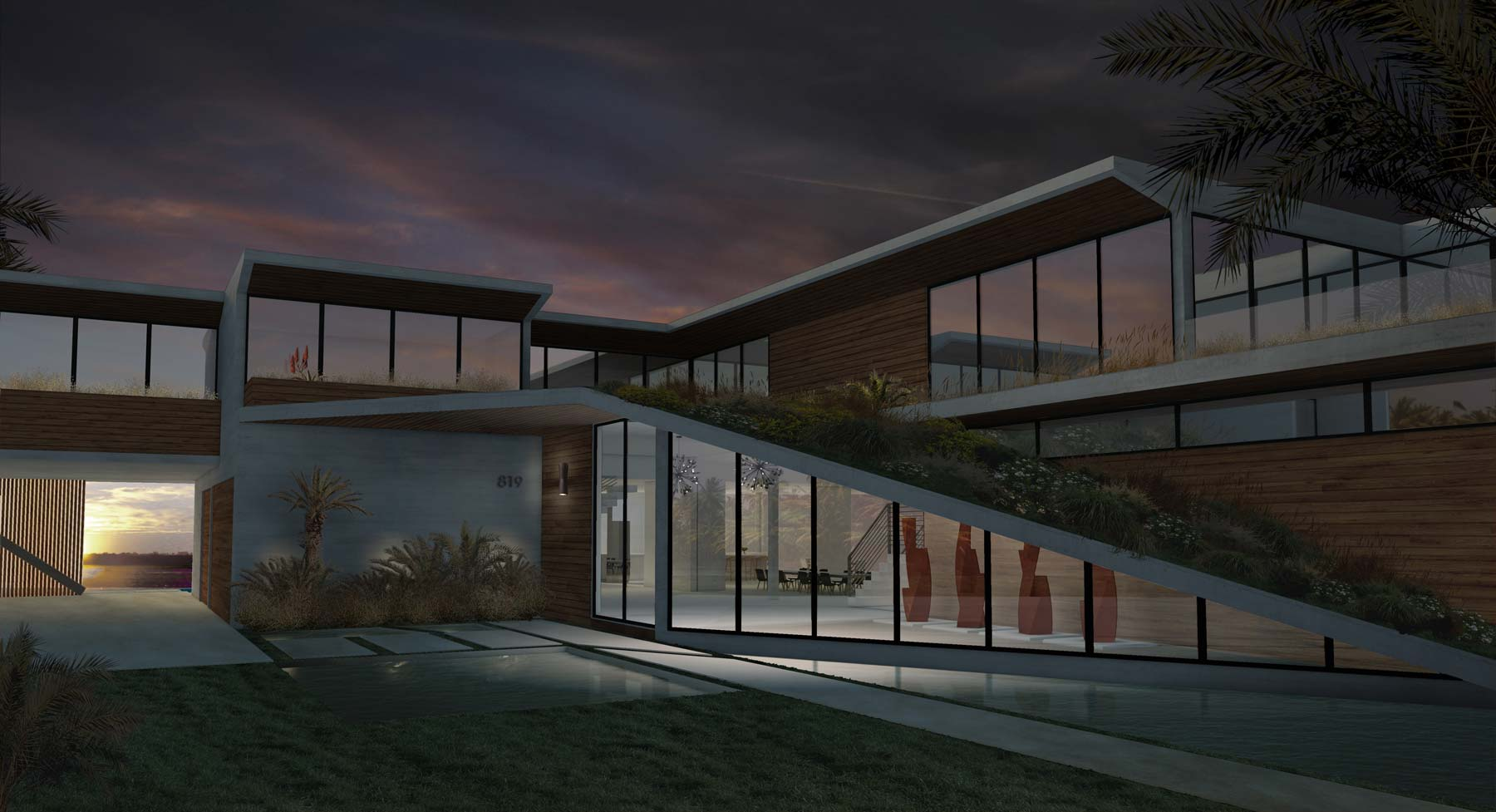Up infinity house for Florida residential architects