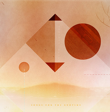 Geometric Graphic Album Art Design for NY Band