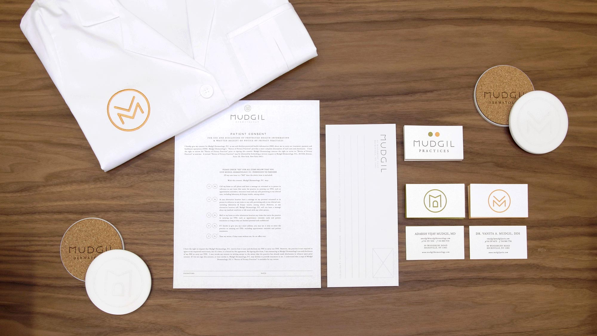 Modern Medical Practice Branding And Graphic Design Package