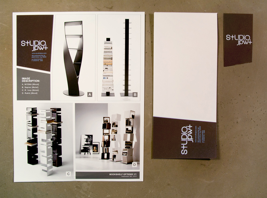 Branded Collateral and Presentation Desgin for Architecture Firm