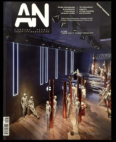 AN Shop Fiting Magazine Architecture Design